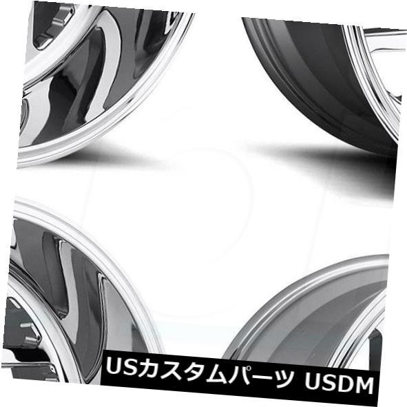 車用品 バイク用品 >> タイヤ ホイール 2020 新作 海外輸入ホイール 22x12燃料Triton D609 8x180 -43クロームホイールリムセット Wheels Chrome -43 4 一部予約 Rims Set 22x12 Fuel Triton