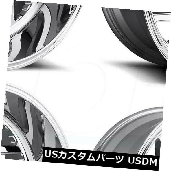 車用品 バイク用品 >> タイヤ ホイール 海外輸入ホイール 22x12燃料Triton D609 8x170 -43クロームホイールリムセット プレゼント Rims -43 Fuel Wheels Set 激安卸販売新品 22x12 Triton Chrome 4