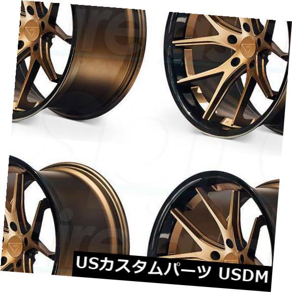 人気が高い  海外輸入ホイール 20x9 Ferrada FR2 5x114.3 35マットブロンズブラックリップホイールリムセット(4) 20x9 Ferrada FR2 5x114.3 35 Matte Bronze Black Lip Wheels Rims Set(4), バルボラフットボール f309822a