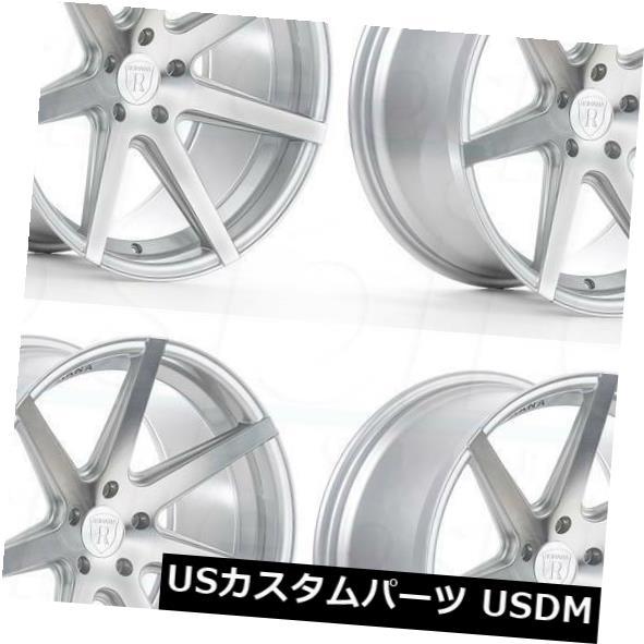 全商品オープニング価格! 海外輸入ホイール 20x10/ Set(4) 20x11 Rims Rohana RC7 Wheels 5x114.3 25/28シルバーホイールリムセット(4) 20x10/20x11 Rohana RC7 5x114.3 25/28 Silver Wheels Rims Set(4), AsianTyphoOon:b86f7914 --- hafnerhickswedding.net