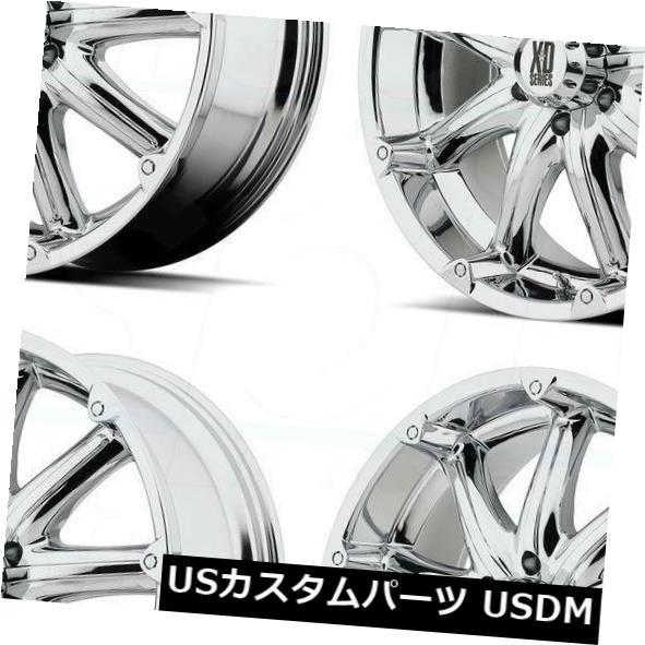 【70%OFF】 海外輸入ホイール 20x9 XD Chrome XD779バッドランズ6x135 18クロームホイールリムセット(4) XD 20x9 20x9 XD XD779 Badlands 6x135 18 Chrome Wheels Rims Set(4), カワベマチ:94ed8549 --- dibranet.com
