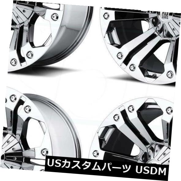 【クーポン対象外】 海外輸入ホイール 20x9 XD XD778 Wheels Monster XD778 8x6.5/ 8x165.1 18 Rims Chrome Wheels Rims Set(4) 20x9 XD XD778 Monster 8x6.5/8x165.1 18 Chrome Wheels Rims Set(4), 春江町:69a80c92 --- dibranet.com