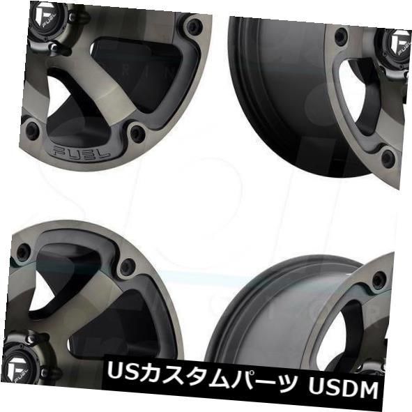 【送料無料キャンペーン?】 海外輸入ホイール 22x12 Fuel Beast D564 8x170 -44ブラックマシニングホイールリムセット(4) 22x12 Fuel Beast D564 8x170 -44 Black Machined Wheels Rims Set(4), キセイチョウ 9fb83ee3