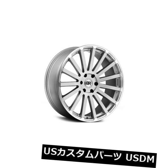 【送料無料/即納】  海外輸入ホイール 22x9.5ブラックライノスピア5x150 25シルバーホイールリムセット(4) 22x9.5 Black Rhino Spear 5x150 25 Silver Wheels Rims Set(4), ブランド通販サイト stylevoke aa0e8a81