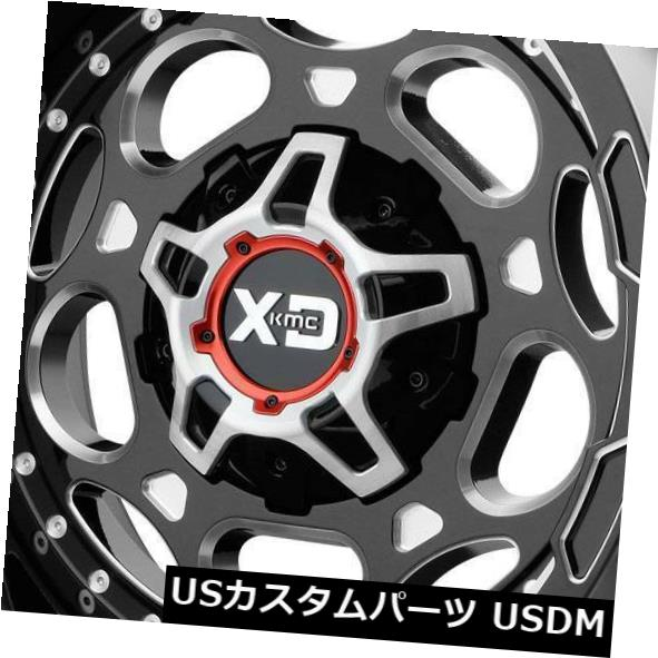 【クーポン対象外】 海外輸入ホイール 20x9 0 20x9 XD XD837リコイル8x170 0ブラックミルドホイールリムセット(4) 20x9 XD XD837 Recoil Recoil 8x170 0 Black Milled Wheels Rims Set(4), オシカグン:0587a33d --- greencard.progsite.com