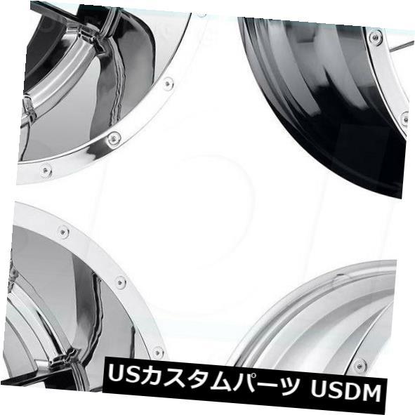 海外輸入ホイール 20x9 Fuel Maverick D536 8x180 1クロームホイールリムセット 4 20x9 Fuel Maverick D536 8x180 1 Chrome Wheels Rims Set 4