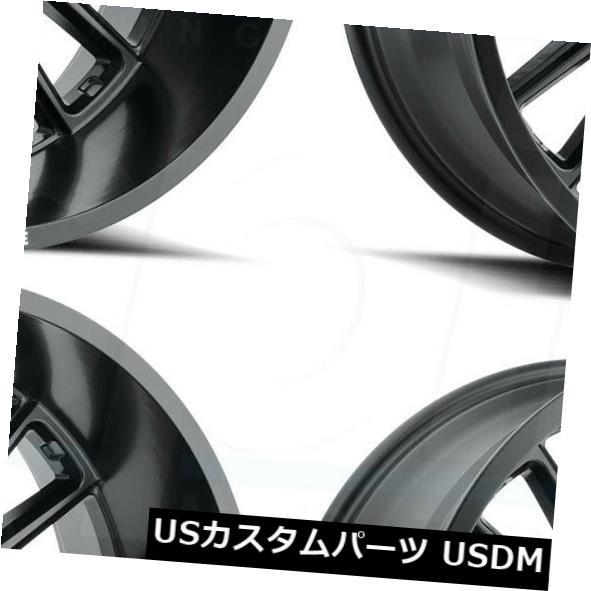 好評 海外輸入ホイール 20x12敵対的なH115プレデター6x5.5 H115/ 6x139.7 -44フルブラックホイールリムセット(4) Set(4) 20x12 Hostile H115 Wheels Predator 6x5.5/6x139.7 -44 Full Black Wheels Rims Set(4), 尾島町:a01adca3 --- arg-serv.ru