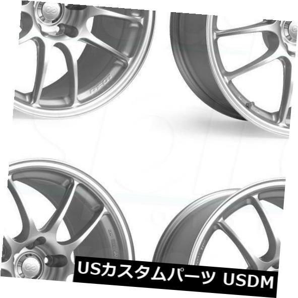 最高の品質 海外輸入ホイール 18x9.5 Enkei 18x9.5 Pf01 5x114.3 45 Set(4) 45シルバーペイントホイールリムセット(4) 18x9.5 Enkei Pf01 5x114.3 45 Silver Paint Wheels Rims Set(4), 家具インテリア雑貨 カグール:78042213 --- greencard.progsite.com