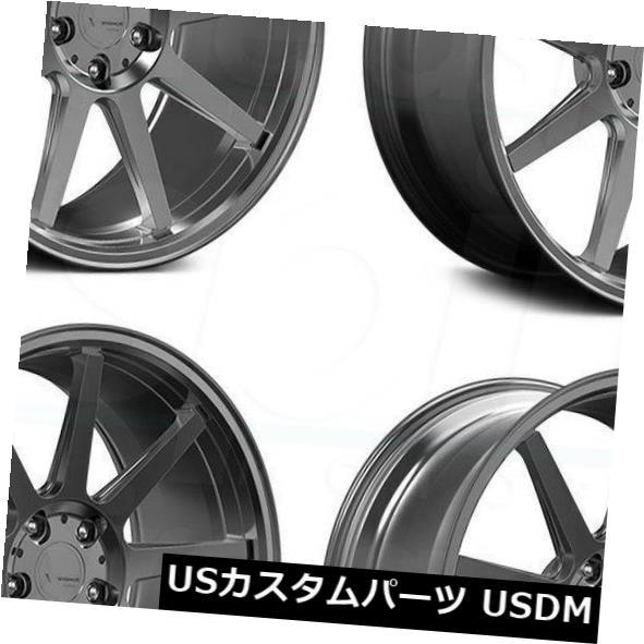 【★大感謝セール】 海外輸入ホイール 20x9 20x9 Verde VFF02 Rims 5x130 40ブラッシュダークパラジウムホイールリムセット(4) 20x9 Verde Dark VFF02 5x130 40 Brushed Dark Palladium Wheels Rims Set(4), ホウフシ:b3701b1a --- greencard.progsite.com