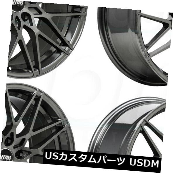 新作人気モデル 海外輸入ホイール 19x8.5 / 19x9.5 VMR V801 5x112 45/45無煙炭ホイールリムセット(4) 19x8.5/19x9.5 VMR V801 5x112 45/45 Anthracite Wheels Rims Set(4), カワムラ家具 643e495a