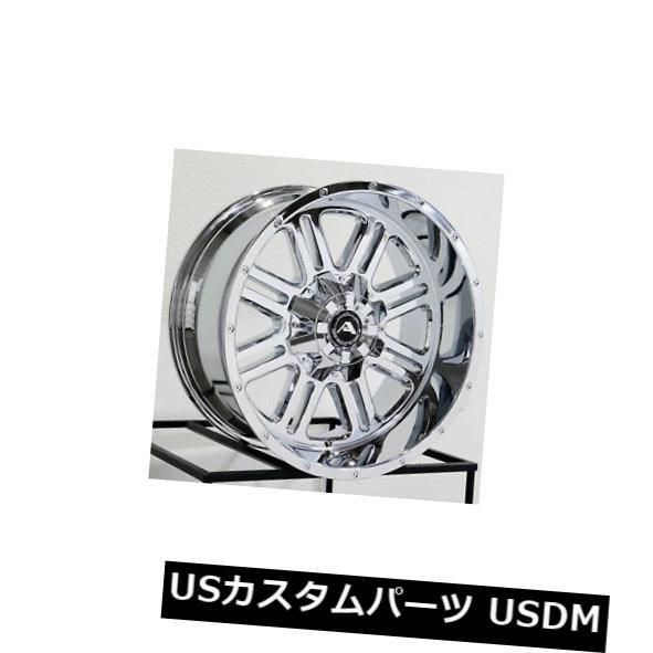 最愛 海外輸入ホイール 20x12アメリカンオフロードA106 5x114.3 -44クロームホイールリムセット(4) 20x12 American Off-Road A106 5x114.3 -44 Chrome Wheels Rims Set(4), 赤平市 70f1b36b