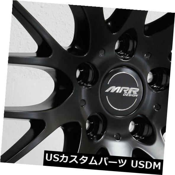 上品なスタイル 海外輸入ホイール 20x9 Set(4) MRR HR6 5x114.3 18マットブラックホイールリムセット(4) 5x114.3 20x9 MRR MRR HR6 5x114.3 18 Matte Black Wheels Rims Set(4), e-net A furniture:3486d76b --- eraamaderngo.in