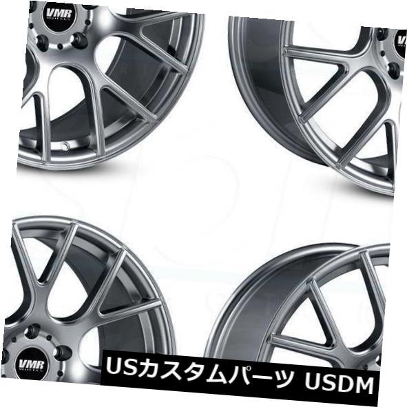 優れた品質 海外輸入ホイール Set(4) 18x10 VMR V810 5x114.3 Wheels 25ガンメタルホイールリムセット(4) 18x10 VMR V810 V810 5x114.3 25 Gunmetal Wheels Rims Set(4), カマクラシ:e6e7064f --- kalpanafoundation.in
