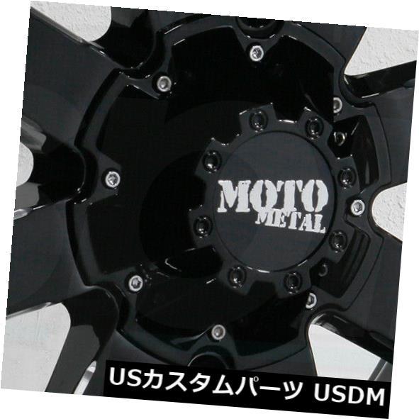 【初売り】 海外輸入ホイール 20x12 Moto Metal MO962 MO962 -44 5x5.5/ 5x150 -44ブラックミルドホイールリムセット(4)/ 20x12 Moto Metal MO962 5x5.5/5x150 -44 Black Milled Wheels Rims Set(4), 通信販売専門店 コクーン:139303fd --- asthafoundationtrust.in