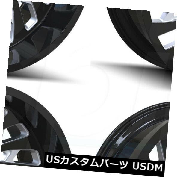【2021年製 新品】 海外輸入ホイール 20x12カリオフロードスイッチバック5x5 Black/ Set(4) 5x127 -51グロスブラックミルドホイールRセット(4) 20x12 5x127 Cali Off-Road Switchback 5x5/5x127 -51 Gloss Black Milled Wheels R Set(4), タカサゴシ:9342db0e --- asthafoundationtrust.in
