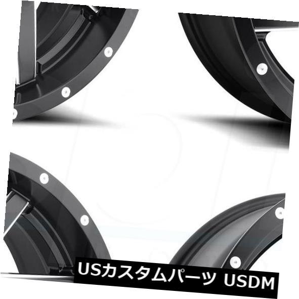 [宅送] 海外輸入ホイール 20x10 Fuel Renegade -18 D594 Fuel 5x5.5/ 5x5.5 5x150 -18ブラックミルドホイールリムセット(4) 20x10 Fuel Renegade D594 5x5.5/5x150 -18 Black Milled Wheels Rims Set(4), 家島町:a56a7dfa --- asthafoundationtrust.in