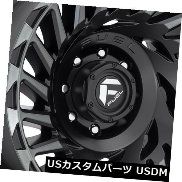 安い 海外輸入ホイール 20x10燃料サイクロンD683 6x5.5/ Rims 6x139.7 -18マットブラックホイールリムセット(4) 20x10 Black Fuel -18 Cyclone D683 6x5.5/6x139.7 -18 Matte Black Wheels Rims Set(4), アメニティーグッズ専門店MINE:d5fcd8b2 --- kalpanafoundation.in