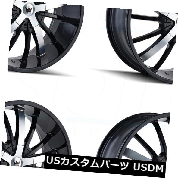 最新情報 海外輸入ホイール Machined 24x9.5 Mazzi 5x139.7 Essence 5x5.5/ Mazzi 5x139.7 18グロスブラックマシニングドホイールリムセット(4) 24x9.5 Mazzi Essence 5x5.5/5x139.7 18 Gloss Black Machined Wheels Rims Set(4), クロイシシ:e9a75fe7 --- lucyfromthesky.com