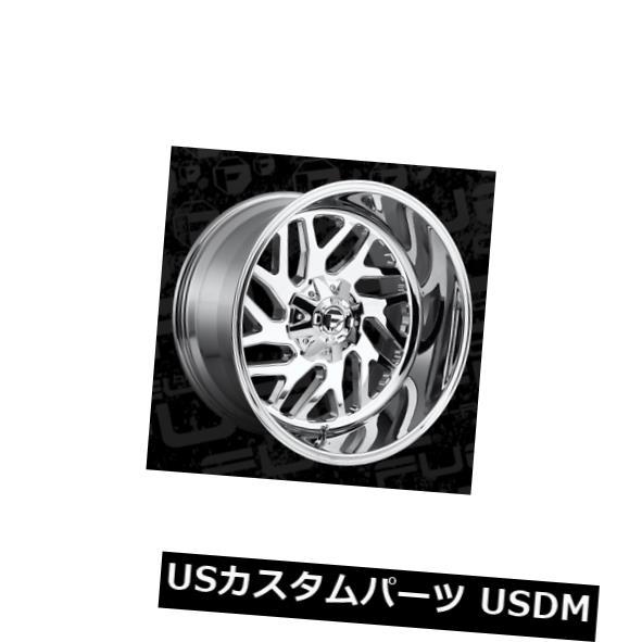 海外輸入ホイール 22x14 ET-75 Fuel D609 Triton 8x165.1 Chromeホイール 4個セット 22x14 ET-75 Fuel D609 Triton 8x165.1 Chrome Wheels Set of 4