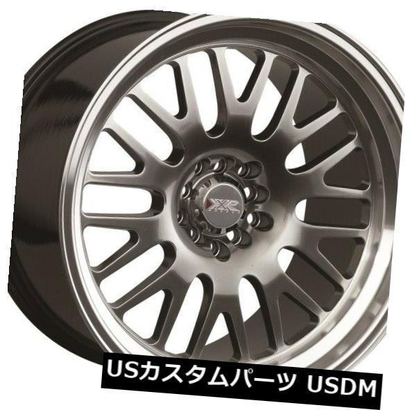 海外輸入ホイール 18X8.5 +35 XXR 531 5x112 / 120クロムブラックホイール(4個セット) 18X8.5 +35 XXR 531 5x112/120 Chromium Black Wheels (Set of 4)