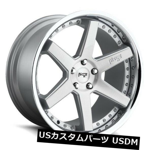 憧れの 海外輸入ホイール 20x9 ET35 Niche M193 Altair 5x114.3シルバーホイール(4個セット) 20x9 ET35 Niche M193 Altair 5x114.3 Silver Wheels (Set of 4), ベビー布団専門店sukusukuすくすく 678004a5