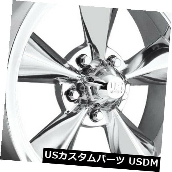 最高級 海外輸入ホイール (Set 18x8 ET1 US of Mag U108標準5x120.7研磨リム(4個セット) 18x8 ET1 US Rims Mag U108 Standard 5x120.7 Polished Rims (Set of 4), KAMIEN:6b407341 --- ecommercesite.xyz