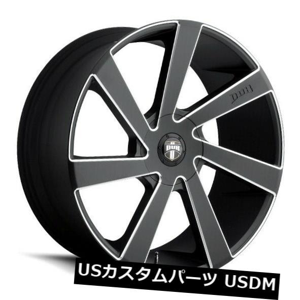 【5%OFF】 海外輸入ホイール 22x9.5 ET35 ET35ダブS133ディレクタ5x150ブラックミルドホイール(4個セット) 22x9.5 (Set ET35 4) Dub S133 Directa 5x150 Black Milled Wheels (Set of 4), 天然石 Stone Angel:93bb8457 --- gudp-1.ru