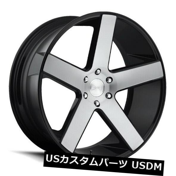 【有名人芸能人】 海外輸入ホイール Wheels 22x9.5 22x9.5 ET11ダブS217バラー5x127ブラックブラッシュホイール(4個セット) 22x9.5 ET11 Dub S217 Baller of 5x127 Black Brushed Wheels (Set of 4), タテヤママチ:de8ba428 --- lucyfromthesky.com