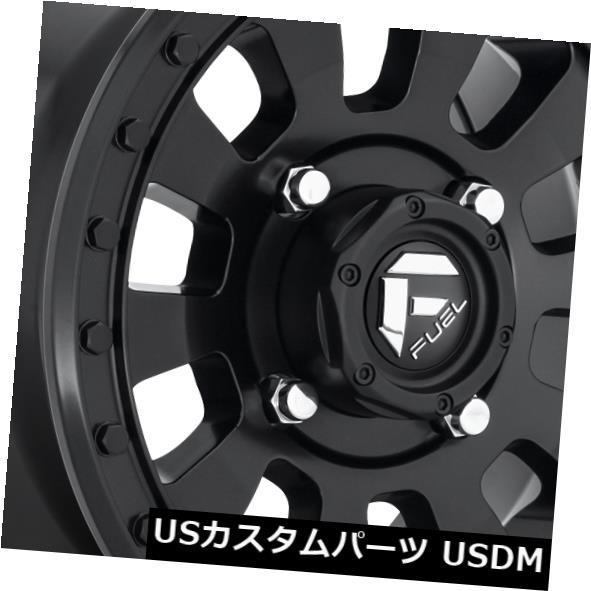 海外輸入ホイール 15x7 ET38 Fuel D630 Tactic 4x136 Matte Black Wheels(4個セット) 15x7 ET38 Fuel D630 Tactic 4x136 Matte Black Wheels (Set of 4)