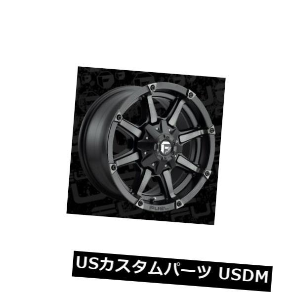 海外輸入ホイール 18x9 ET20 Fuel D556カプラー6x135 / 6x139.7ブラック/機械加工DDTホイール(4個セット) 18x9 ET20 Fuel D556 Coupler 6x135/6x139.7 Black/Machined DDT Wheels (Set of 4)