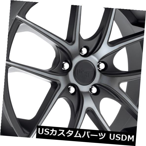 【期間限定特価】 海外輸入ホイール 20x8.5 ET25 Niche Black Niche M130 Targa 5x112ブラックマシニングホイール(4個セット) 5x112 20x8.5 ET25 Niche M130 Targa 5x112 Black Machined Wheels (Set of 4), 曲線美:5d701513 --- thegirlleadproject.org