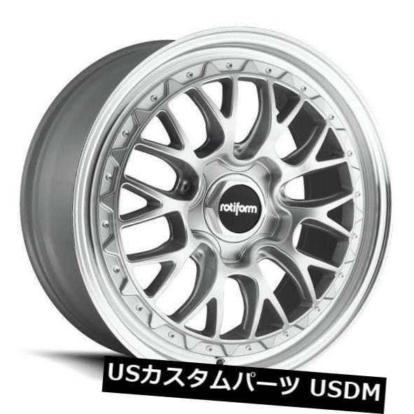 当社の 海外輸入ホイール 19x10 +25 5x112 Rotiform 5x112 LSR R155 5x112 +25シルバーマシンリム(4個セット) 19x10 Rotiform LSR R155 5x112 +25 Silver Machine Rims (Set of 4), 品質保証:923c57ec --- medsdots.com