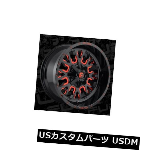 新着商品 海外輸入ホイール 20x12 ET-43 Fuel D612 Stroke Stroke 8x170 Black Red (Set w/ Candy Red Wheels(4個セット) 20x12 ET-43 Fuel D612 Stroke 8x170 Black w/Candy Red Wheels (Set of 4), 曲線美:e80ce254 --- dibranet.com
