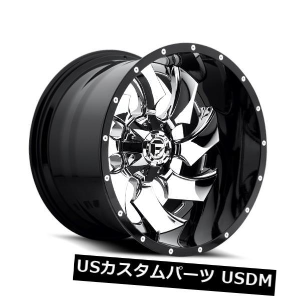 新規購入 海外輸入ホイール/ 20x12 ET-44 Fuel of D240 Cleaver 5x139.7 4)/ 5x150 Chrome Wheels(4個セット) 20x12 ET-44 Fuel D240 Cleaver 5x139.7/5x150 Chrome Wheels (Set of 4), メープル レーン ゴルフ:c69863fc --- online-cv.site