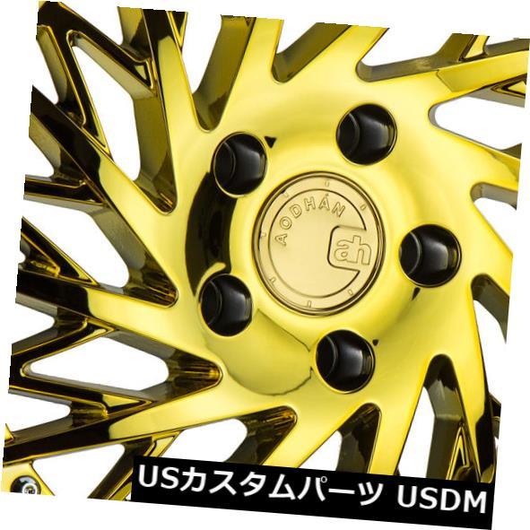 公式 海外輸入ホイール DS03 18x10.5 Aodhan Rims 4) DS03 5x114.3 of +22 Gold Vacuum True Directional(4個セット) 18x10.5 Aodhan Rims DS03 5x114.3 +22 Gold Vacuum True Directional (Set of 4), 園田商事:c93a04dc --- anekdot.xyz