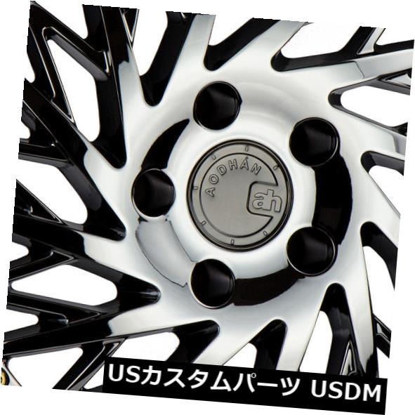 【限定製作】 海外輸入ホイール Aodhan 18x9.5/ 18x10.5 Aodhan Rims +30/22 DS03 5x114.3 Black +30/22ブラックバキューム(4個セット) 18x9.5/18x10.5 Aodhan Rims DS03 5x114.3 +30/22 Black Vacuum (Set of 4), 琴平町:2878b1d3 --- anekdot.xyz