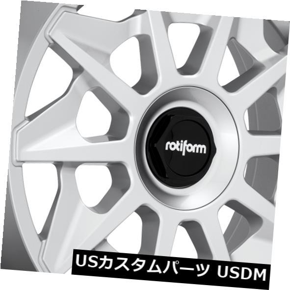 2021セール 海外輸入ホイール 5x100/5x112 20x8.5 ET45 Rotiform R124 R124 4) Cvt 5x100/ 5x112シルバーホイール(4個セット) 20x8.5 ET45 Rotiform R124 Cvt 5x100/5x112 Silver Wheels (Set of 4), NEXTR:d5be37ad --- lucyfromthesky.com
