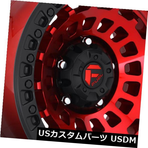 最安価格 海外輸入ホイール 17x9 ET-12燃料D632ゼファー6x139.7レッドマットブラックリングリム(4個セット) (Set 17x9 ET-12 17x9 Fuel D632 Zephyr 6x139.7 6x139.7 Red Matte Black Ring Rims (Set of 4), サタチョウ:01615a90 --- estoresa.co.za