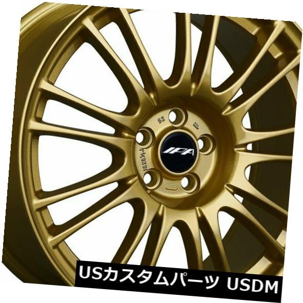 海外輸入ホイール 18x8.5 +55 XXR 1GE 5x114.3ゴールドリム(4個セット) 18x8.5 +55 XXR 1GE 5x114.3 Gold Rims (Set of 4)