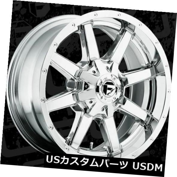 【ラッピング不可】 海外輸入ホイール 20x8.25燃料D536 Maverick 8x210 ET-195クロムリム(4個セット) 20x8.25 Fuel D536 Maverick 8x210 ET-195 Chrome Rims (Set of 4), ユーロダイレクト b147db46