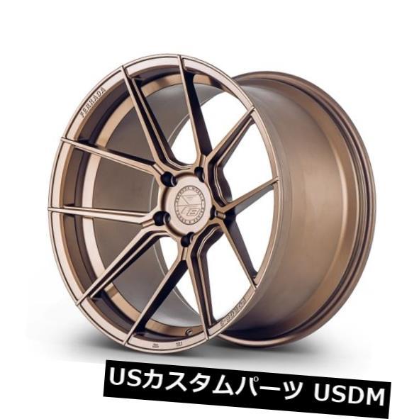 夏セール開催中 MAX80%OFF! 海外輸入ホイール Ferrada Forge-8 F8-FR8 20x9 5x112 +45マットブロンズホイール(4個セット) Ferrada Forge-8 F8-FR8 20x9 5x112 +45 Matte Bronze Wheels (Set of 4), 山田郡 06ed43a1