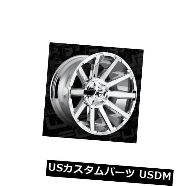 超歓迎された 海外輸入ホイール 20x10 Fuel D614 Contra 6x135 / 6x139.7 ET-18 Chrome Rims(4個セット) 20x10 Fuel D614 Contra 6x135/6x139.7 ET-18 Chrome Rims (Set of 4), 家具インテリア雑貨のアラモード 895ed7ae