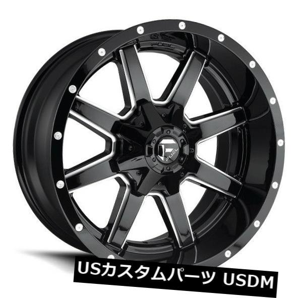 上質で快適 海外輸入ホイール 20x14フューエルD610 6x135 / 5.5 ET-76グロスブラックホイール(4個セット) 20x14 FUEL D610 6x135/5.5 ET-76 Gloss Black Wheels (Set of 4), 矢島町 9c02b344