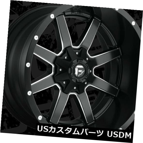 人気カラーの 海外輸入ホイール 22x12 Maverick Fuel D538 Maverick 4) 海外輸入ホイール 8x170 ET-44 Black & Milled Rims (Set of 4), 野球狂の店センナリスポーツ:7a43262c --- inglin-transporte.ch