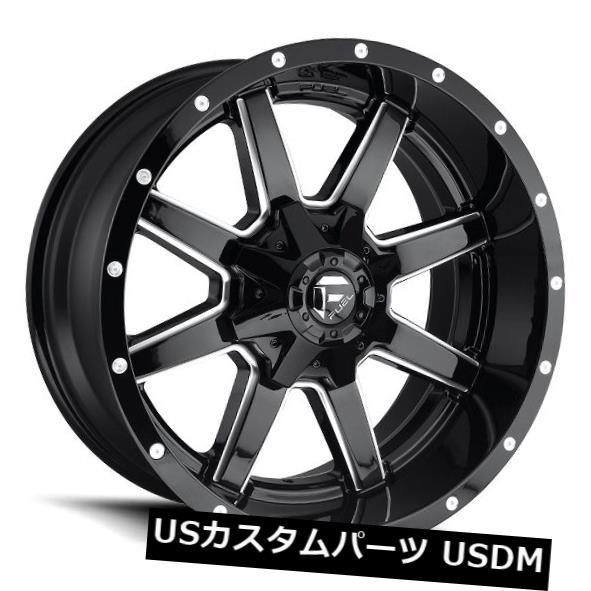 公式 海外輸入ホイール Fuel Gloss Maverick D610 20x12 6x135 ET-44/ 6x5.5 ET-44グロスブラック of/ミルドホイール(4個セット) Fuel Maverick D610 20x12 6x135/6x5.5 ET-44 Gloss Black/Milled Wheels (Set of 4), JOHNBLAZE:0b90aea8 --- greencard.progsite.com