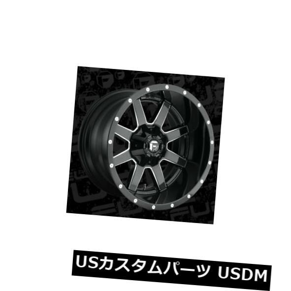 新入荷 海外輸入ホイール 20x12 ET-44 Fuel 4) Rims D610 Maverick 5x139.7/5x150 ET-44 Black & Milled Rims (Set of 4), 霊山町:dd008bf6 --- beautyflurry.com