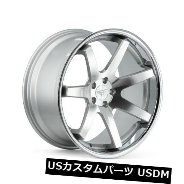 新着商品 海外輸入ホイール 20x10.5 4) 20x10.5 Ferrada FR1 Lip 5x108 +38マシンシルバー/クロームリップホイール(4個セット) 20x10.5 Ferrada FR1 5x108 +38 Machine Silver/Chrome Lip Wheels (Set of 4), 手づくり高級婦人靴 エッセデッセ:4f3f26e5 --- hafnerhickswedding.net