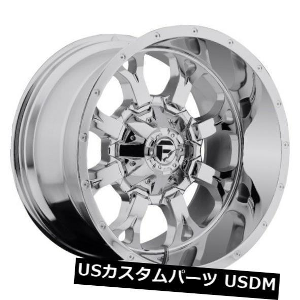 【今日の超目玉】 海外輸入ホイール フューエルクランクD516 20x10 8x170 ET-24クロームホイールリム(4個セット) Fuel Krank D516 20x10 8x170 ET-24 Chrome Wheels Rims (Set of 4), Plus Cherie 9e09cd4f
