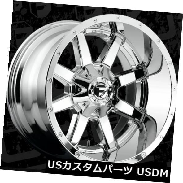 車用品 バイク用品 >> 40%OFFの激安セール タイヤ 保障 ホイール 海外輸入ホイール 22x12燃料D536 Maverick 8x165.1 ET-44クロムリム 4個セット D536 4 22x12 Set ET-44 Rims Fuel Chrome of