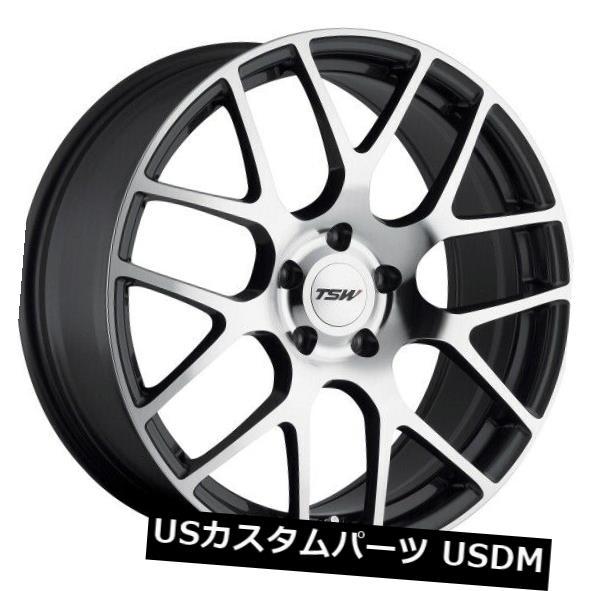 最安値級価格 海外輸入ホイール 21x9 TSWニュルブルクリンク5x108リム+40ガンメタルホイール(4個セット) 21x9 TSW Nurburgring 5x108 Rims +40 Gunmetal Wheels (Set of 4), フィットネスショップFIT-IN 40b58e93